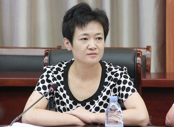 如东县宣传部长张蓉蓉发表讲话