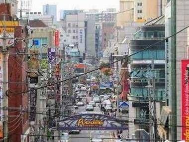 韩国整形一条街