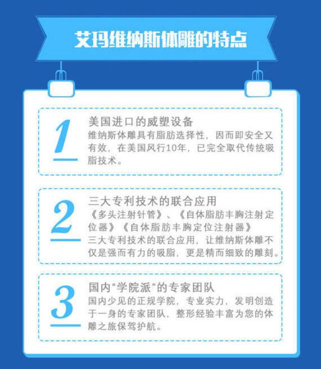北京艾玛维纳斯精雕马甲线 魔鬼身材不是梦