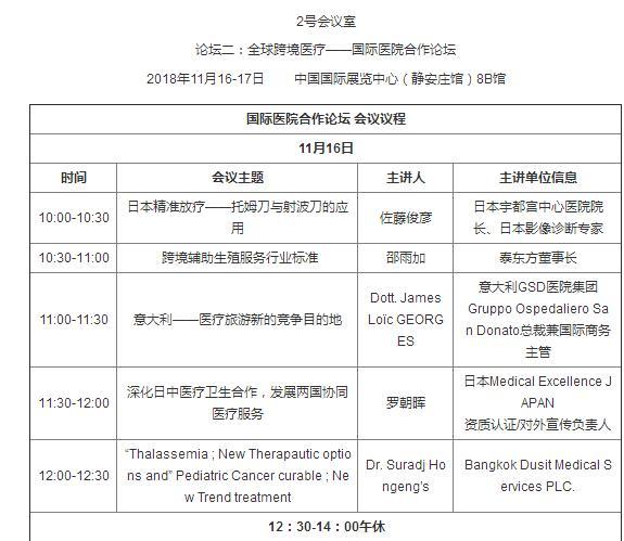 """2018""""一带一路""""国际医疗旅游与健康产业大会(11月北京站)"""