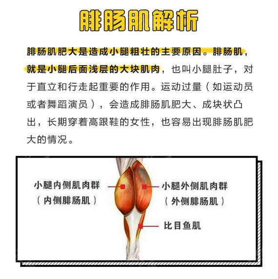 宜宾华仁衡力肉毒素瘦小腿 塑造纤细腿部曲线 和小粗腿说byebye