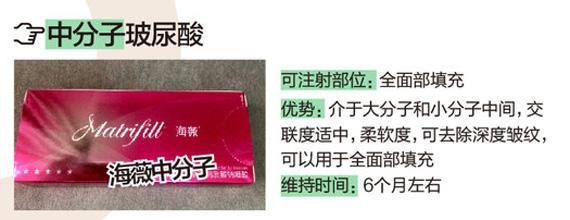 宜宾华仁中国润百颜玻尿酸/0.5ml 丰盈提拉 饱满塑形 让你重新变回少女