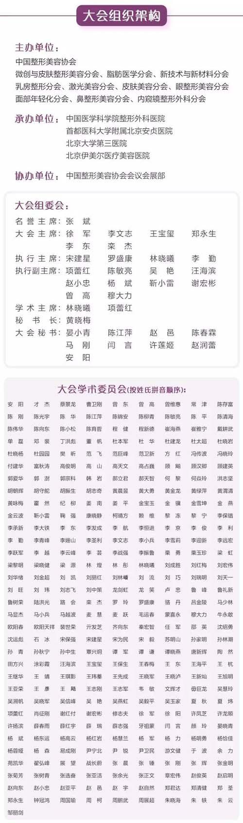 第九届全国微创医学美容大会于9月在北京召开
