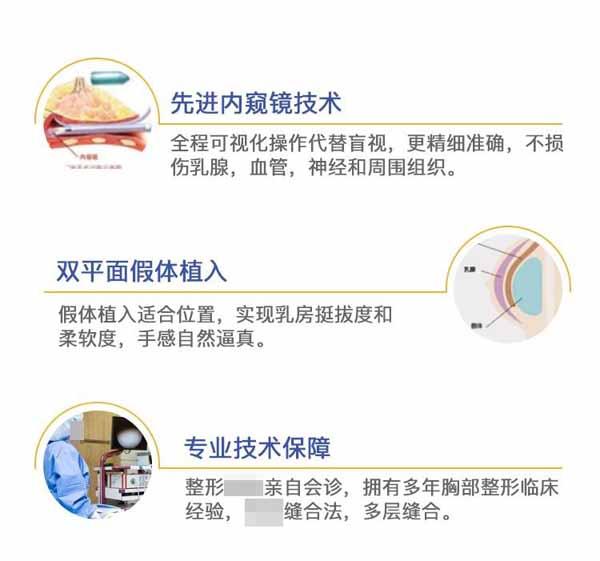 台州韩辰假体隆胸 双平面技术 解决多种不完美胸型