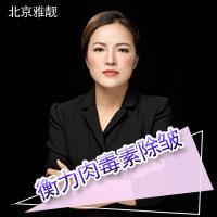 注射除皱衡力肉毒素除皱北京雅靓美容诊所张春彦优惠手术的封面
