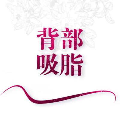 吸脂减肥背部吸脂北京瑞丽天承美容冯立哲优惠手术的封面