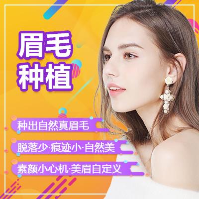 毛发种植眉毛种植北京长虹医疗美容医院陈忠存优惠手术的封面