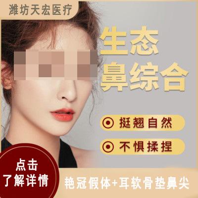 鼻部整形鼻综合整形潍坊天宏医疗美容医院刘仕龙优惠手术的封面