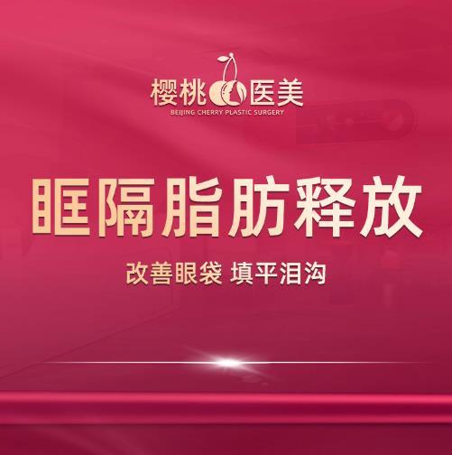 眼部整形祛眼袋北京樱桃医疗美容诊所齐永乐优惠手术的封面